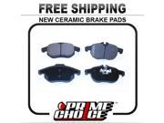 Prime Choice Auto Parts SCD972 Front Ceramic Brake Pad Set