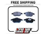 Prime Choice Auto Parts PCD972 Front Performance Ceramic Brake Pad Set