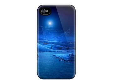 New Style Newegg Hard Cases Covers For Iphone 6- Moonlight Walk