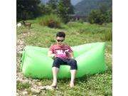 Hangout Lazy Sofa Fast Inflatable Air Lazy Sleeping Bag Camping Lay Bed+Storage Bag 9SIA7AD5062196