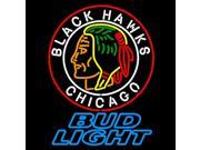 Fashion Neon Sign BUD LIGHT Chicago Handcrafted Real Glass Lamp Neon Light Neon Sign Beerbar Sign Neon Beer Sign 19x15 9SIA7AE2TK7479