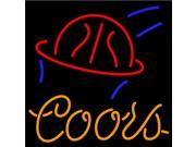 Fashion Neon Sign Coors Basketball Handcrafted Real Glass Lamp Neon Light Neon Sign Beerbar Sign Neon Beer Sign 19x15 9SIA7AE2TS7107