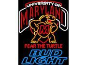 Fashion Neon Sign Bud Light Maryland Turtle Handcrafted Real Glass Tube Neon Light Sign Home Beer Bar Pub Recreation Room Game Room Windows Garage Wall Sign 32x 9SIA7AE3DF6033