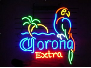 Fashion Handcraft  Corona Extra Parrot Palm Tree Logo Beer Bar Pub Neon Light  Sign 24x20!!! 9SIA7AE53T2742