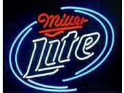 Fashion Handcraft Miller Lite Real Glass Beer Bar Pub Display Neon Light Sign 17x13!!! 9SIA7AE53W8271