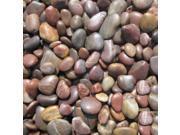 Sample of Red Beach Pebbles 3-5 cm Random Polished