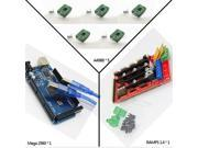 3D Printer Iduino Mega 2560 compatible Arduino Main Control Plate + RAMPS 1.4 Control Board + 4pcs A4988 Drives