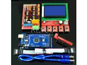 3D Printer Kit 12864 LCD + RAMPS 1.4 Control Board + A4988 Drives + Mega 2560 R3 3D 0008 Open Source