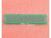 5pcs Universal Double Side Board PCB 2x8cm 1.6mm DIY Prototype Paper PCB
