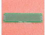 5pcs Universal Double Side Board PCB 2x8cm 1.6mm DIY Prototype Paper PCB