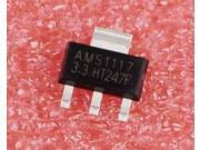 10pcs AMS1117 3.3 1117 3.3 AMS1117 1117 3.3V 1A Voltage Regulato SOT 223