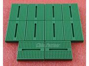10pcs Solderless Prototype Breadboard 170 Tie-points for Arduino Shield Green