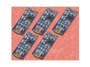 5pcs TP4056 5V 1A Lithium Battery Charging Board Charger Module