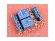 12V 2-Channel Relay Module with Optocoupler H/L Level Triger for Arduino