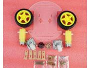 2WD V8 Smart Car Robot Chassis Detection Tracking Coded Disc Avoidance Robot DIY
