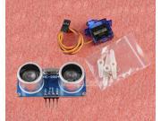 Ultrasonic Module HC-SR04 Distance Measuring + TowerPro SG90 9G servo motor