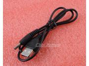 USB 2.0 A to 3.5mm Barrel Connector Jack DC Power Cable 0.7m