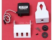 White 1 DOF Mechanical Claws Mergeable LD 2015 Digital Servo for Smart Car Robot
