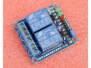 12V 2-Channel Relay Module with Optocoupler High Level Triger for Arduino
