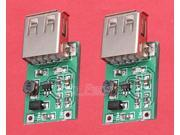 2pcs 0.9V-5V to 5V 600MA USB Step Up Module DC-DC Booster Module