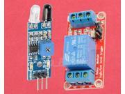 Obstacle Avoidance Sensor Module + 5V 1-Channel Relay Optocoupler H/L