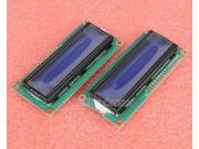 2pcs 1602 16x2 HD44780 Character LCD Display Module LCM blue backlight NEW