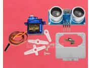 180 Degree Distance Detection SG90 Servo + HC-SR04 + Fix Bracket