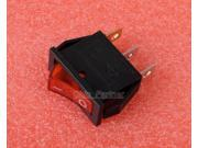 Red AC 250V Rocker Switch KCD3 101N On Off Button Boat Rocker Switch