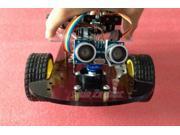 HC SR04 Ultrasonic intelligent Car Kit DIY For Arduino tracking number