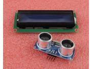 HC-SR04 Ultrasonic Module Distance Transducer + LCD1602 Character Display Blue