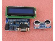 HC-SR04 Ultrasonic Motion Detector Sensor + 1602 LCD Display Module + Dev.Board