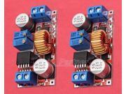 2PCS Lithium Charger Step down power supply module Adaptor 5V 32V to 0.8V 30V 5A