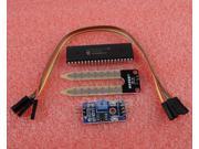 Soil Hygrometer Detection Module Soil Moisture Sensor + PIC16F877A-I/P DIP-40 MC