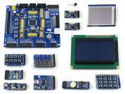 OpenM128 B ATmega128A AU ATmega128 AVR Evaluation Development Board 11 Modules
