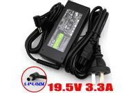Laptop Charger AC Adapter Power Supply 65w for Sony Vaio VPC-EA33FXG