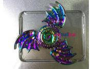 5XRainbow Devil Eye Dragon Wings Tri Fidget Hand Spinner For Kids&Adults