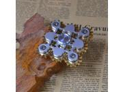3PCS A Quality Brass 9 Gears Linkag Fidget Hand Spinner Brass Gyro EDC Spinne