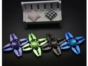Lot 20x Quad-Angle Hand Spinner Fidget Toy For Kids&Adults EDC ADHD