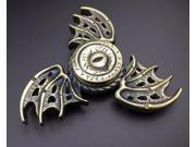 Devil Eye Dragon Wings Tri Fidget Hand Spinner For Kids&Adults Anxiety Focusing