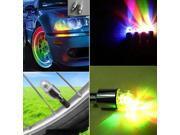 New LED Wheel Light Flash Valve Sealing Cap For Car Bike Bicycle Motor 9SIA7BK2RD2785