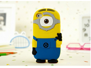 "Walsoon 3D Cute Cartoon Despicable Me Minion Soft Silicone Case Cover for Apple iphone 6 4.7"""" (Light Blue 1 Eye)"" 9SIA7BP2WP3872"