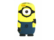 "Walsoon 3D Cute Cartoon Despicable Me Minion Soft Silicone Case Cover for Apple iphone 6 4.7"""" (Dark Blue 1Eye)"" 9SIA7BP2WP3876"