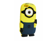 "Walsoon 3D Cute Cartoon Despicable Me Minion Soft Silicone Case Cover for Apple iphone 6 4.7"""" (Dark Blue 1Eye)"" 9SIV0F638A3467"