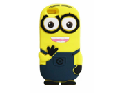 "Walsoon 3D Cute Cartoon Despicable Me Minion Soft Silicone Case Cover for Apple iphone 6 4.7"""" (Dark Blue 2 Eyes)"" 9SIA7BP2WP3878"