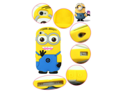 "Walsoon 3D Cute Cartoon Despicable Me Minion Soft Silicone Case Cover for Apple iphone 6 4.7"""" (Light Blue 2 Eyes)"" 9SIV0F638A3252"
