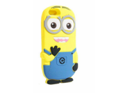 "Walsoon 3D Cute Cartoon Despicable Me Minion Soft Silicone Case Cover for Apple iphone 6 4.7"""" (Light Blue 2 Eyes)"" 9SIA7BP2WP3882"