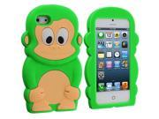 Neon Green Monkey Silicone Design Soft Skin Case Cover for Apple iPhone 5 / 5S 9SIA7BP2N58907