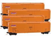Micro-Trains MTL N-Scale 50ft Box Cars Denver & Rio Grande Western/D&RGW 4-Pack 9SIA7CC4TJ2081