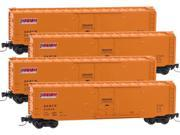 Micro-Trains MTL Z-Scale 50ft Box Cars Denver & Rio Grande Western/D&RGW 4-Pack 9SIA7CC4TJ2123