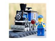 Wange 73 Pcs Pushing Grain Cars Series Present Minfigure Toys Brick Figures in Bags 9SIA7CR2K17515